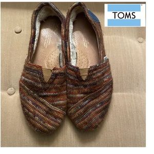 Toms sweater knit shoes